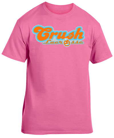 Cotton Short Sleeve T-Shirt Safety Pink