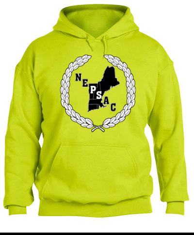 Hooded Sweatshirt 50/50 Heavy Blend Safety Green