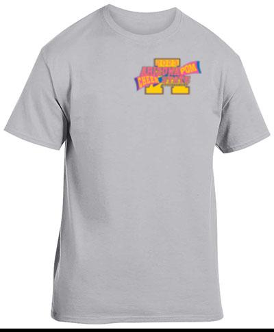 Cotton Short Sleeve T-Shirt Grey