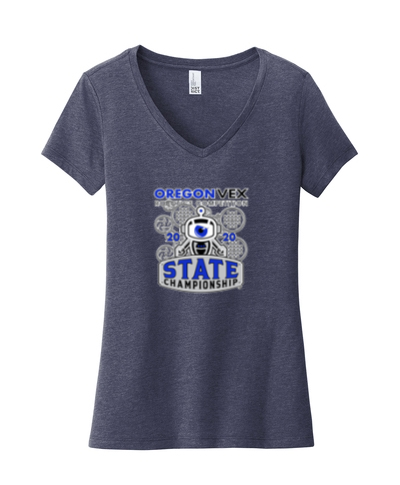 DT6503 - District ® Women's Very Important Tee ® V-Neck - Heather