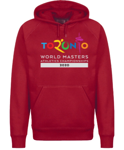 Hooded Sweatshirt 50/50 Heavy Blend Red