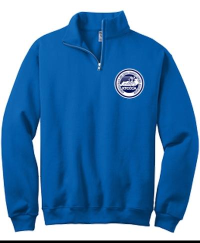 1/4 Zip Cadet Crew Sweatshirt