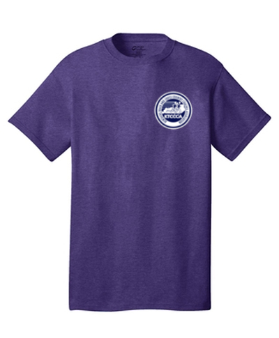 Heather Purple Short Sleeve T-Shirt