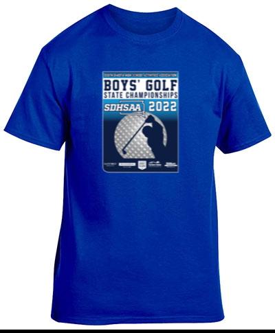 Cotton Short Sleeve T-Shirt / Royal