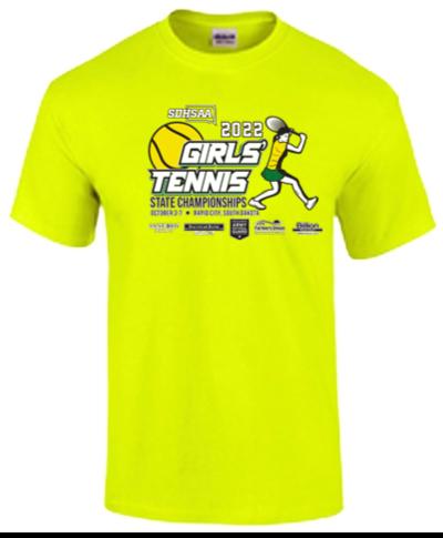 Cotton Short Sleeve T-Shirt / Safety Green