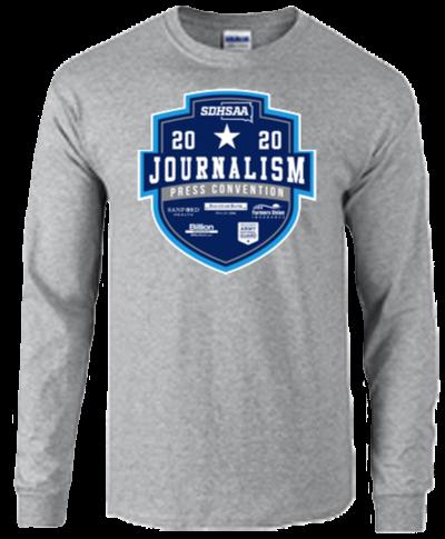 Cotton Long Sleeve T-Shirt / Sport Gray