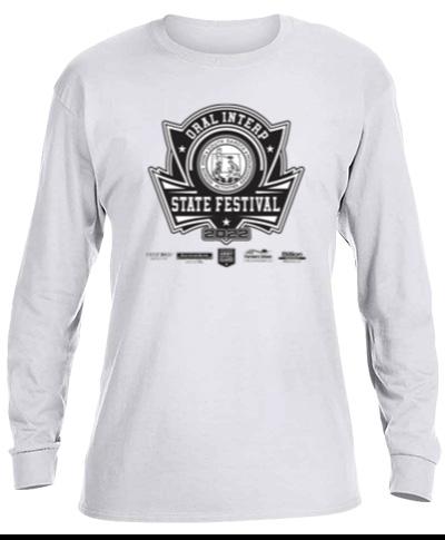 Cotton Long Sleeve T-Shirt / White