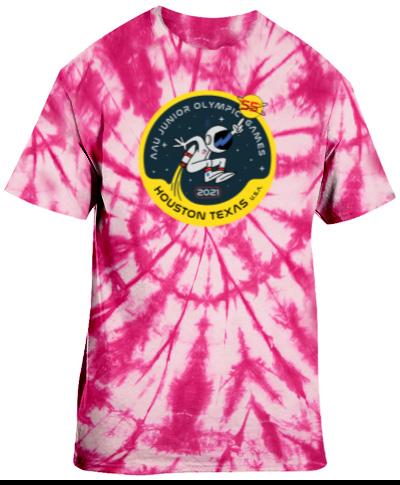 Tie-Dye Pink Short Sleeve
