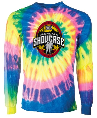 Spiral Tie Dye Long Sleeve Flo Rainbow