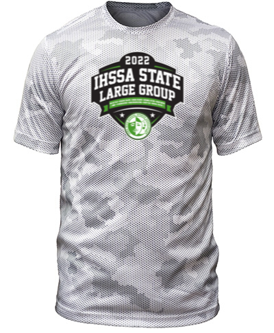 Camo-Hex White Short Sleeve
