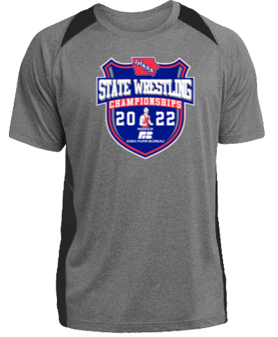 Short Sleeve Performance Tee / Gray with Black