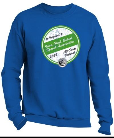 Crew Sweatshirt / Royal