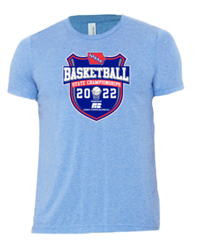 Tri-Blend Short Sleeve T-Shirt / Blue