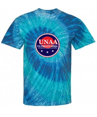 Blue or Black Ripple Tie Dye T-Shirt