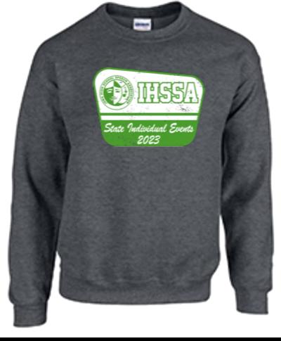 Crew Sweatshirt / Dark Heather