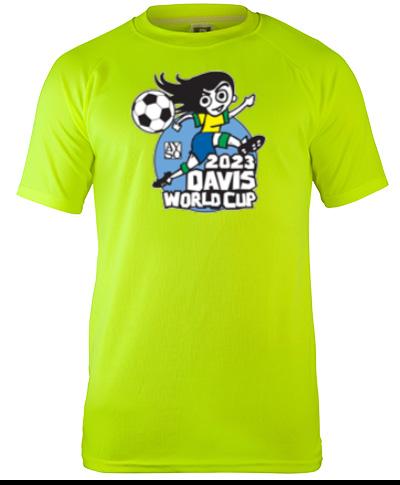 Short Sleeves Mesh Performance T-shirt