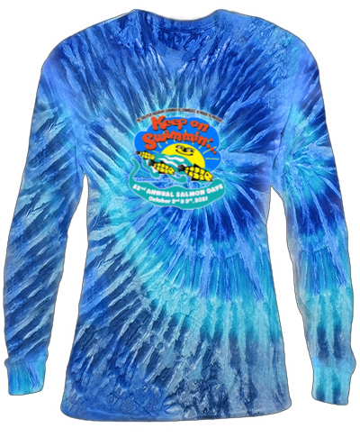 Two Color Long Sleeve Tie-Dye