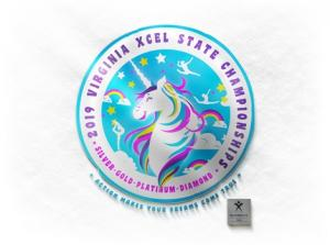 2019 VA USAG Xcel State Meet - Silver, Gold, Platinum & Diamond