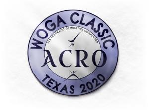 2020 WOGA Classic Acro Gymnastics