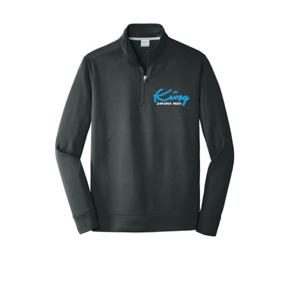 Embroidered Port & Company® Performance Fleece 1/4-Zip Pullover Sweatshirt