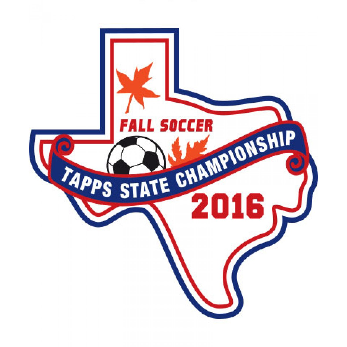 Felt 2016 TAPPS Fall Soccer State Patch