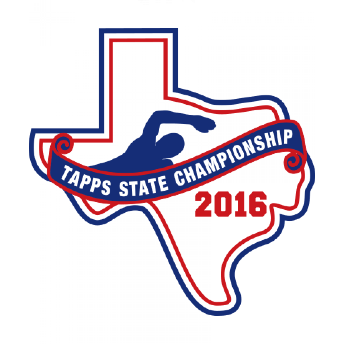 Chenille 2016 TAPPS Swim State Patch