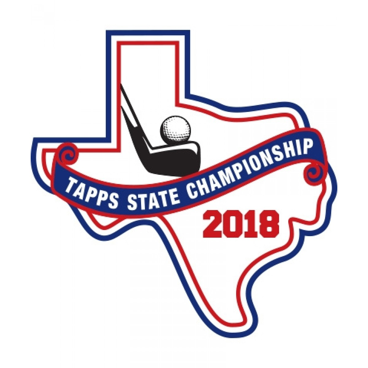 Felt 2018 TAPPS Golf State Patch