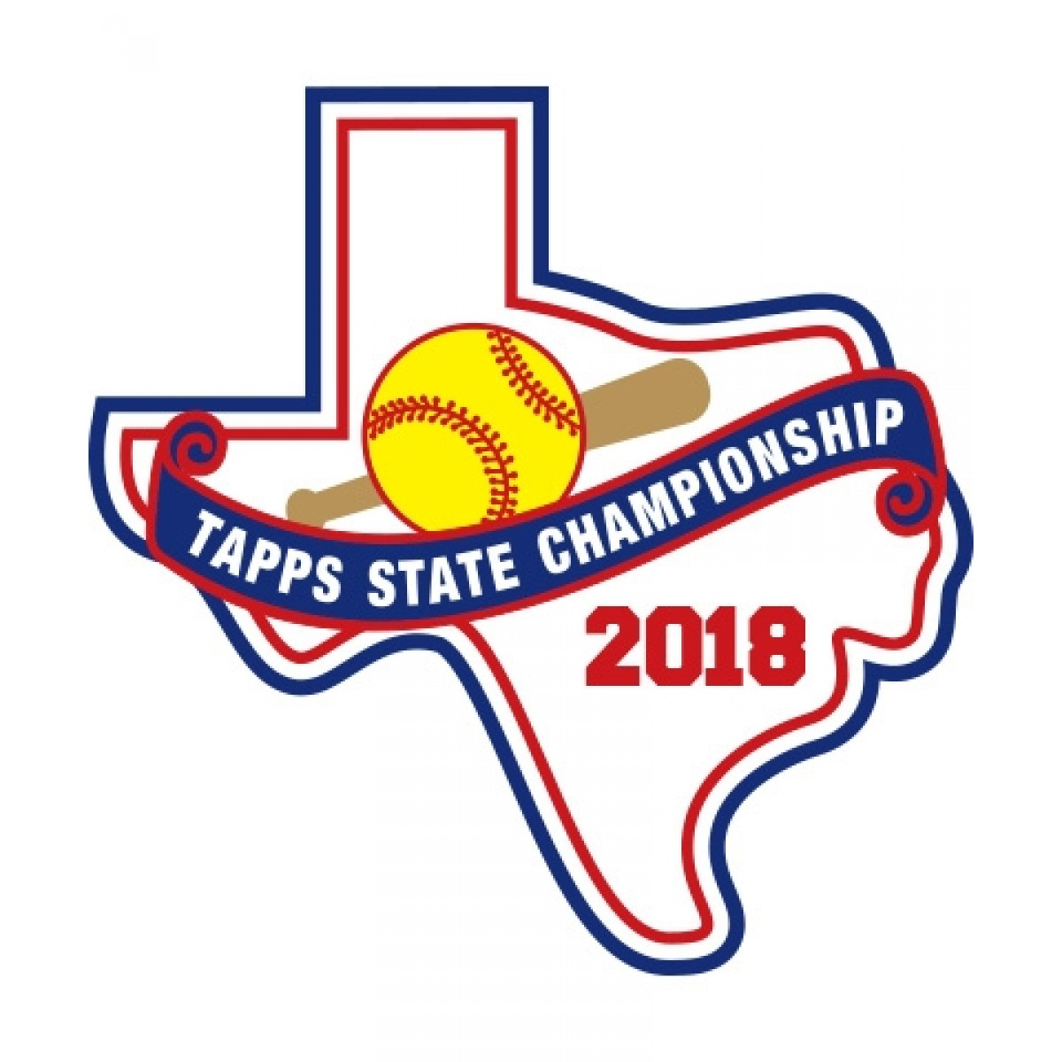 Chenille 2018 TAPPS Softball State Patch