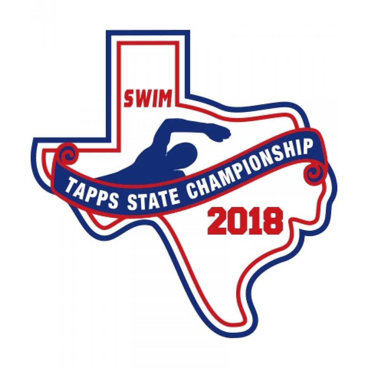 Felt 2018 TAPPS Swim State Patch