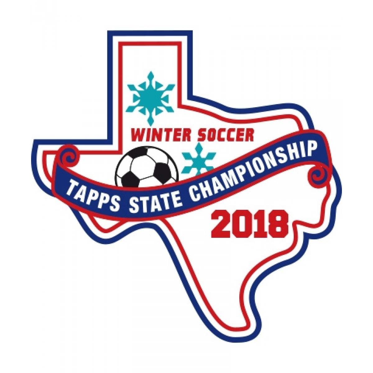 Felt 2018 TAPPS Winter Soccer State Patch