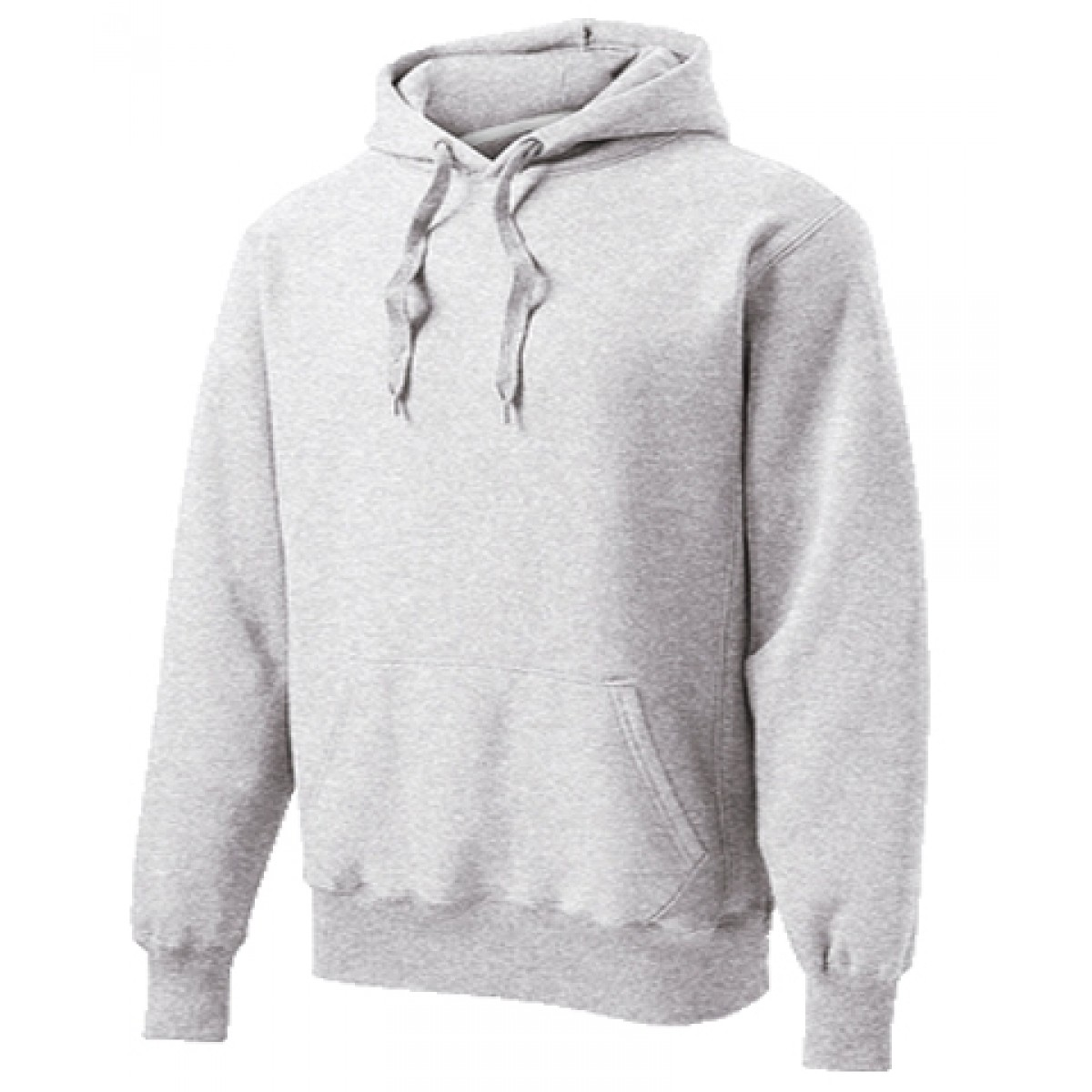Hooded Sweatshirt 50/50 Heavy Blend Gray-Gray -L