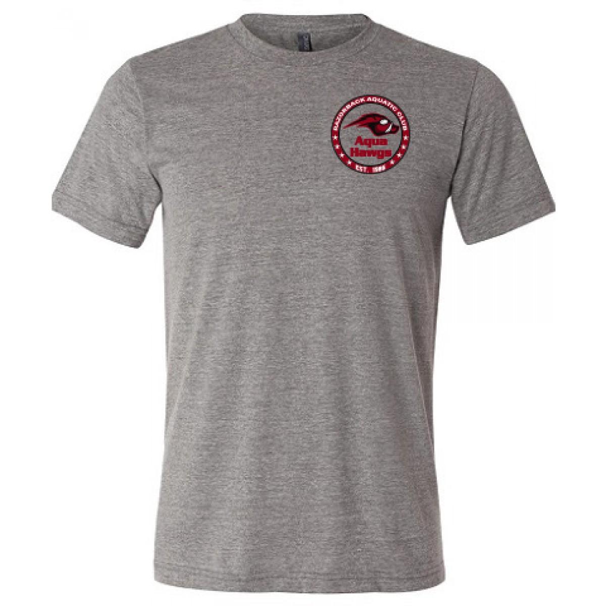 Bella+Canvas Unisex Short Sleeve Deep Heather T-Shirt-Heather Gray-YM