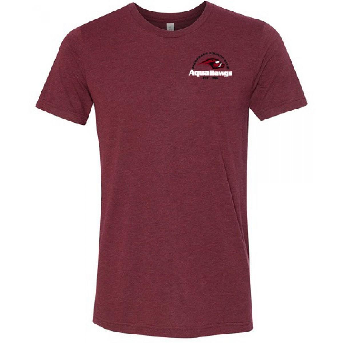 Bella+Canvas Unisex Short Sleeve Jersey T-Shirt-Cardinal Red-YL
