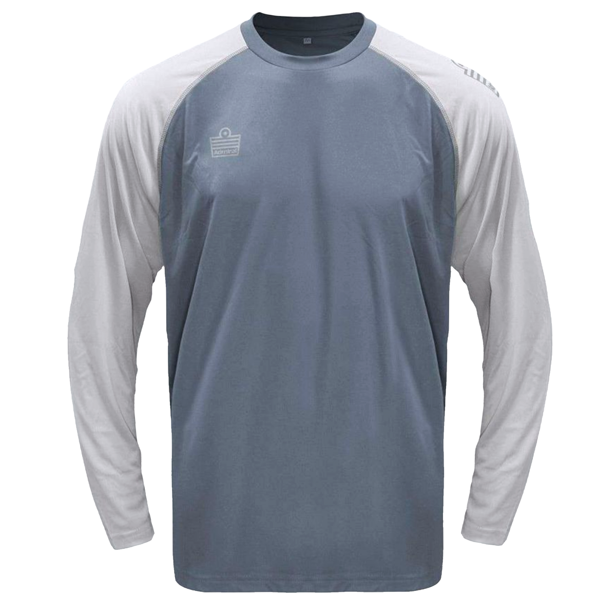 Admiral Impact Performance Top Long Sleeve-Gray -2XL