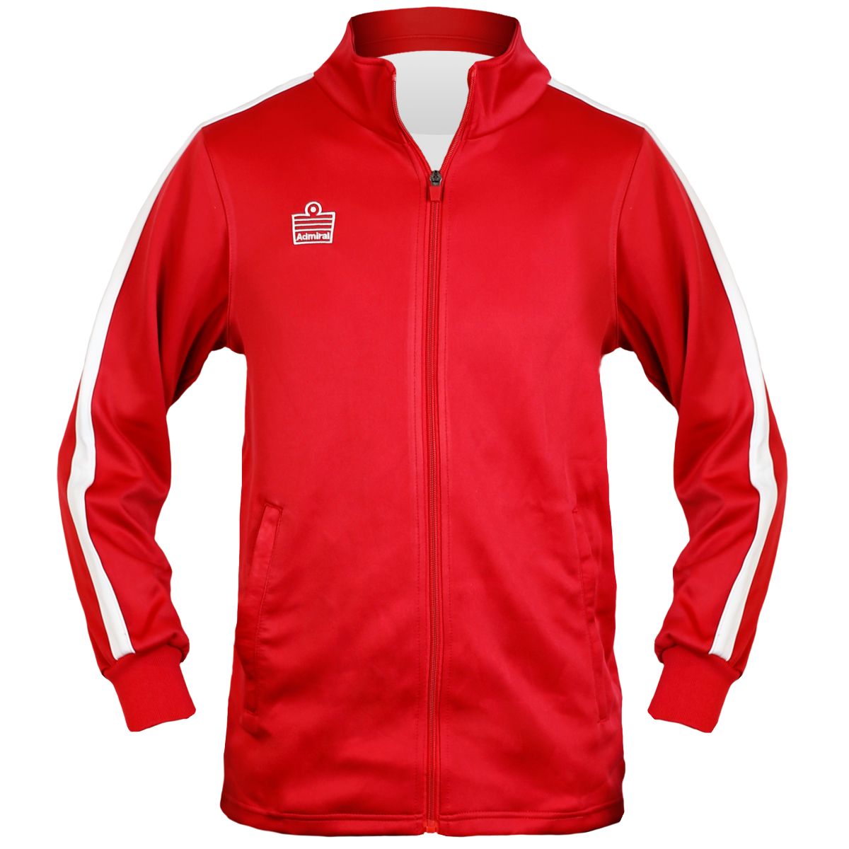 Reno Warm Up Jacket-Red-M