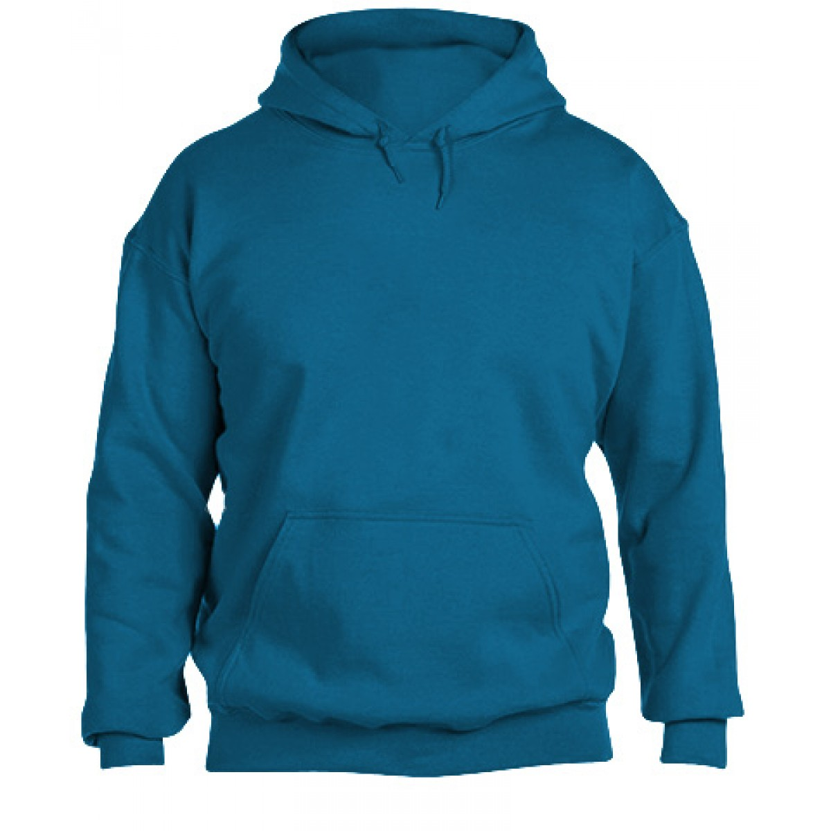 Hooded Sweatshirt 50/50 Heavy Blend -Sapphire-S