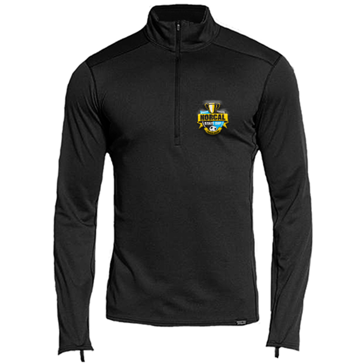 Embroidered Admiral Pro Stretch 1/4 Zip Pullover-L