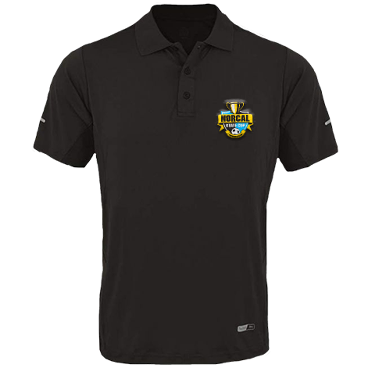 Embroidered Admiral Pro Stretch Polo-YL