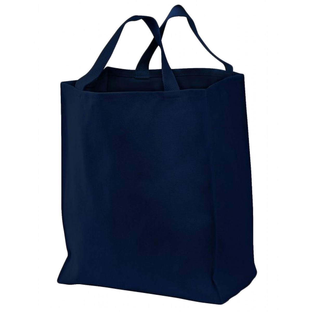 Grocery Tote-Navy