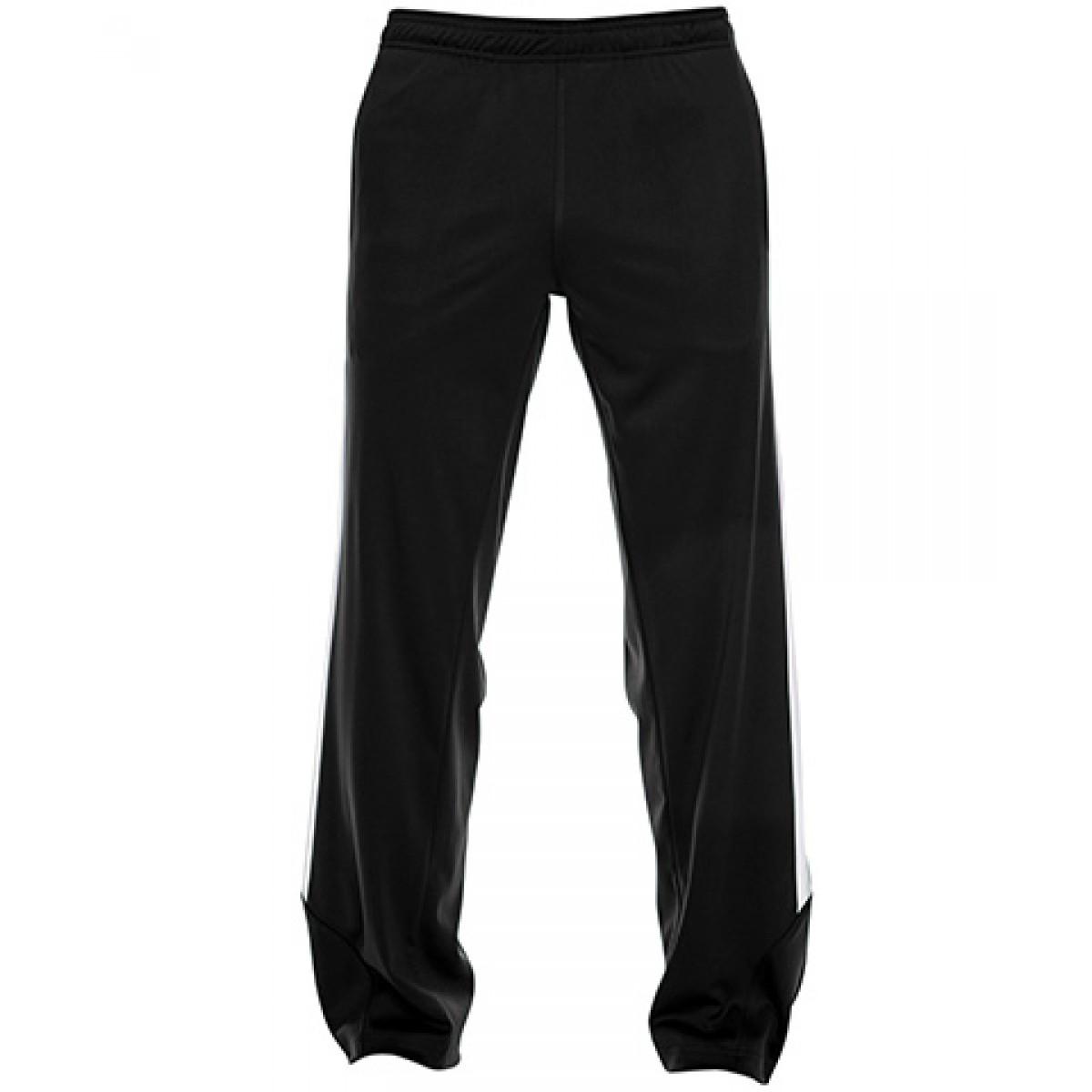 Men's Elite Performance Fleece Pant-Black-3XL