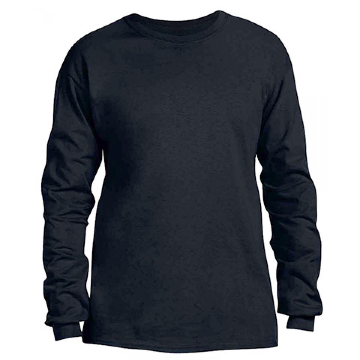 Heavy Cotton Long-Sleeve Adidas Shirt