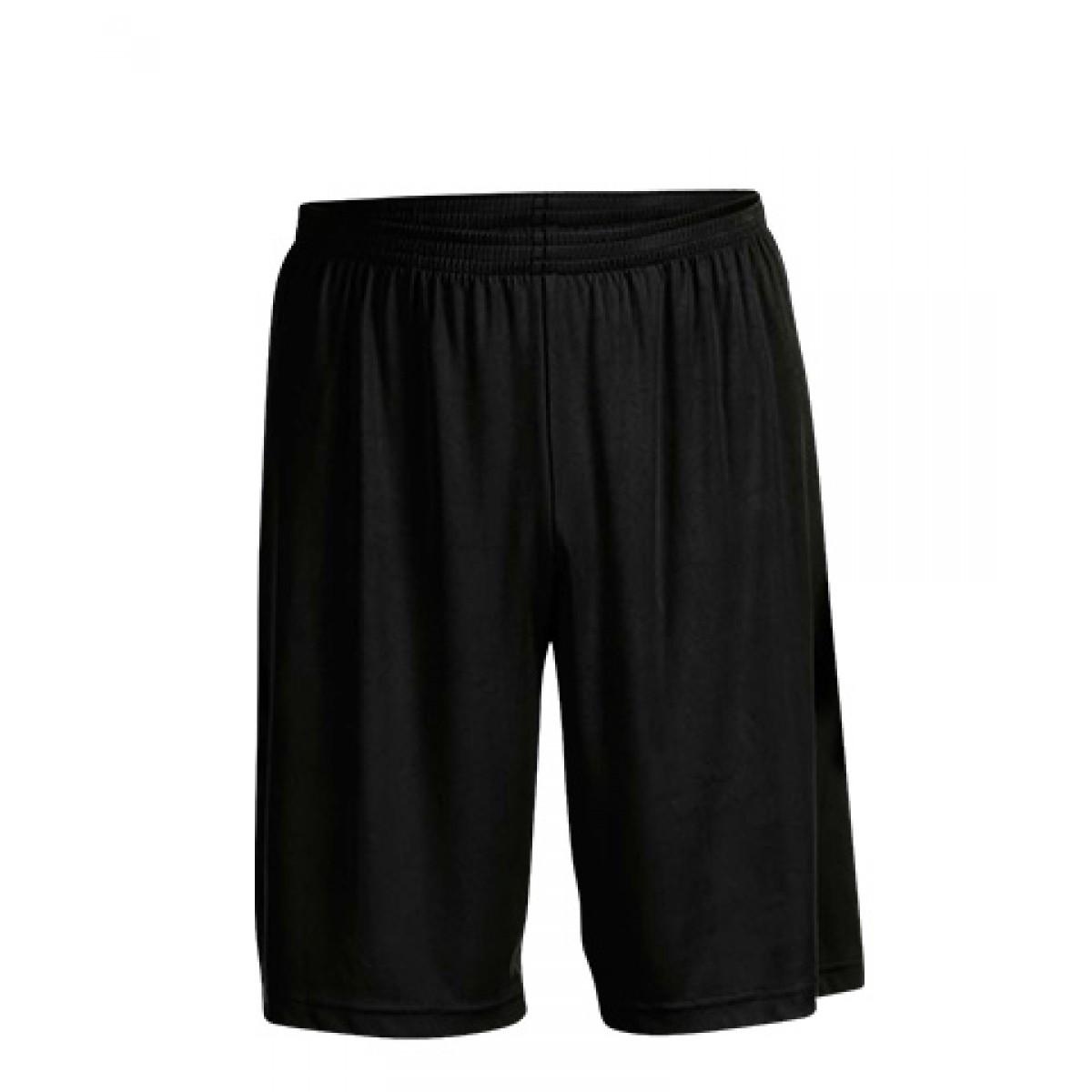 Men's Performance Shorts-Black-L