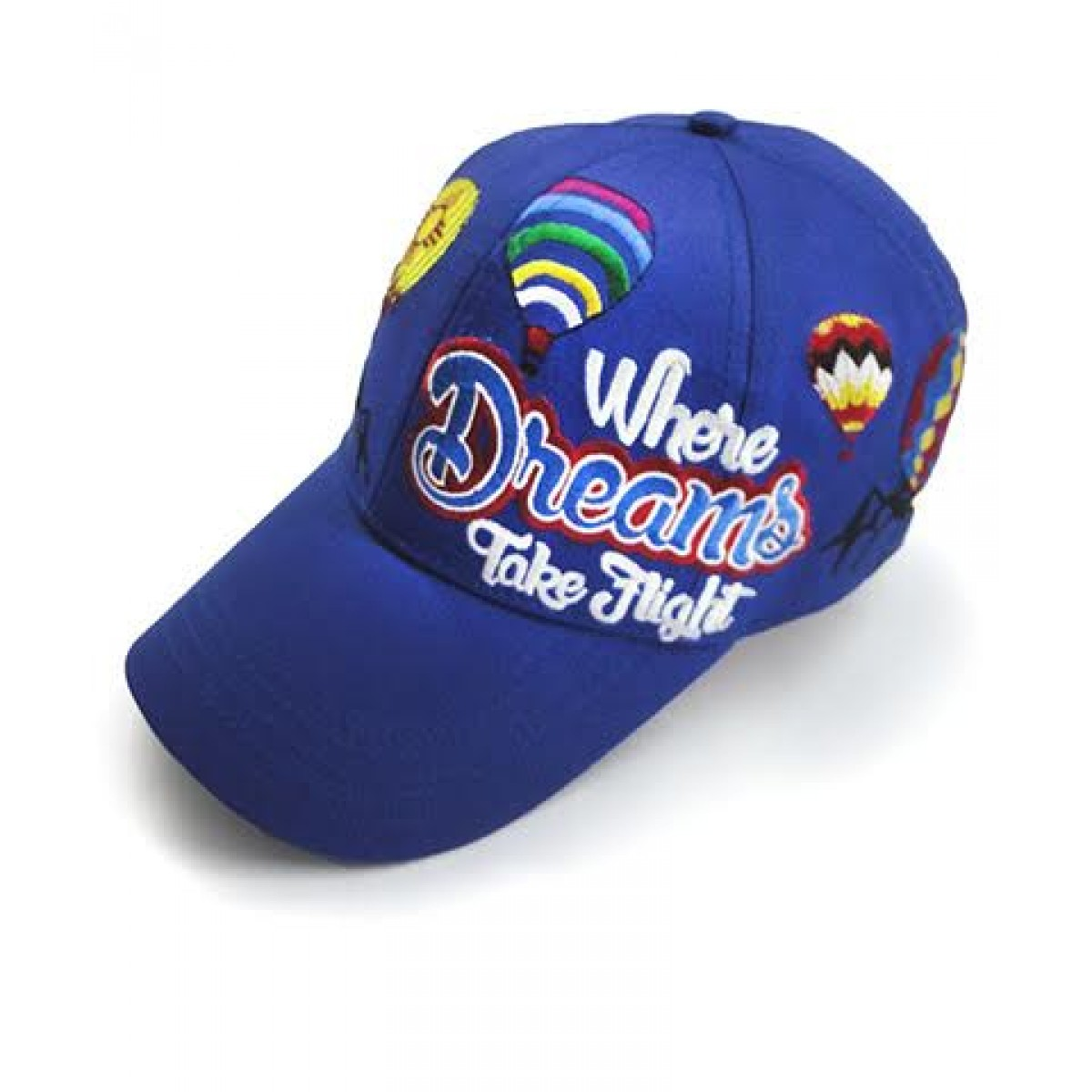 AIBF Embroidered Cap -Blue-OS