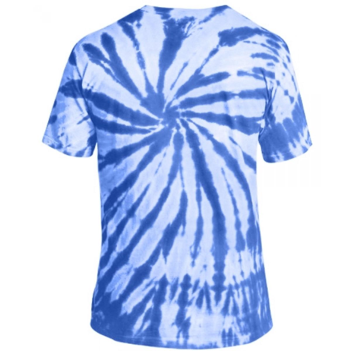 Essential Tie-Dye Tee-Blue-M
