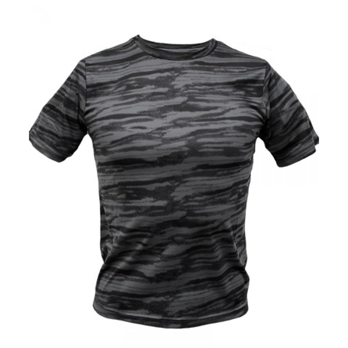Dark Gray Camo Short Sleeve