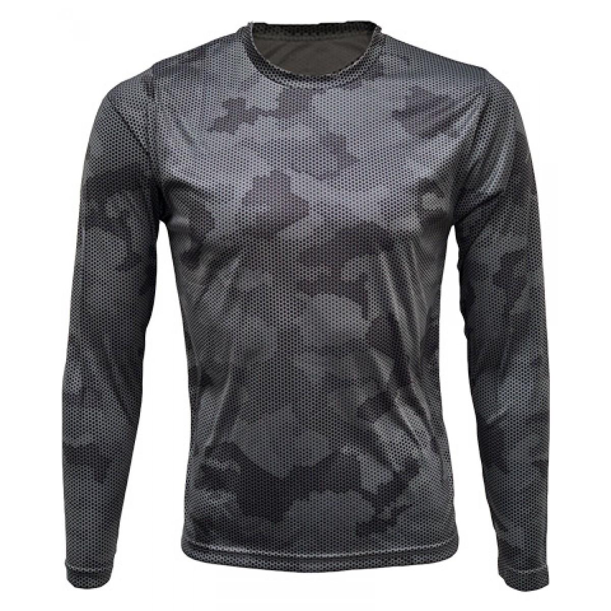 Gray/Black Camo Long Sleeve
