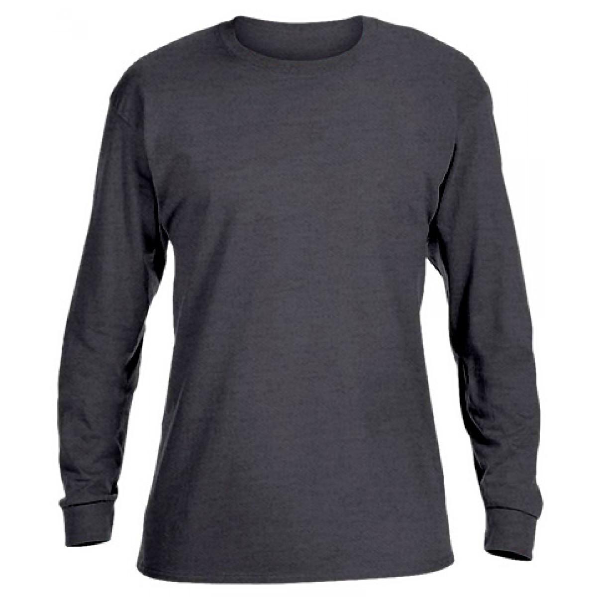 Ultra Cotton Long-Sleeve T-Shirt-Black-S