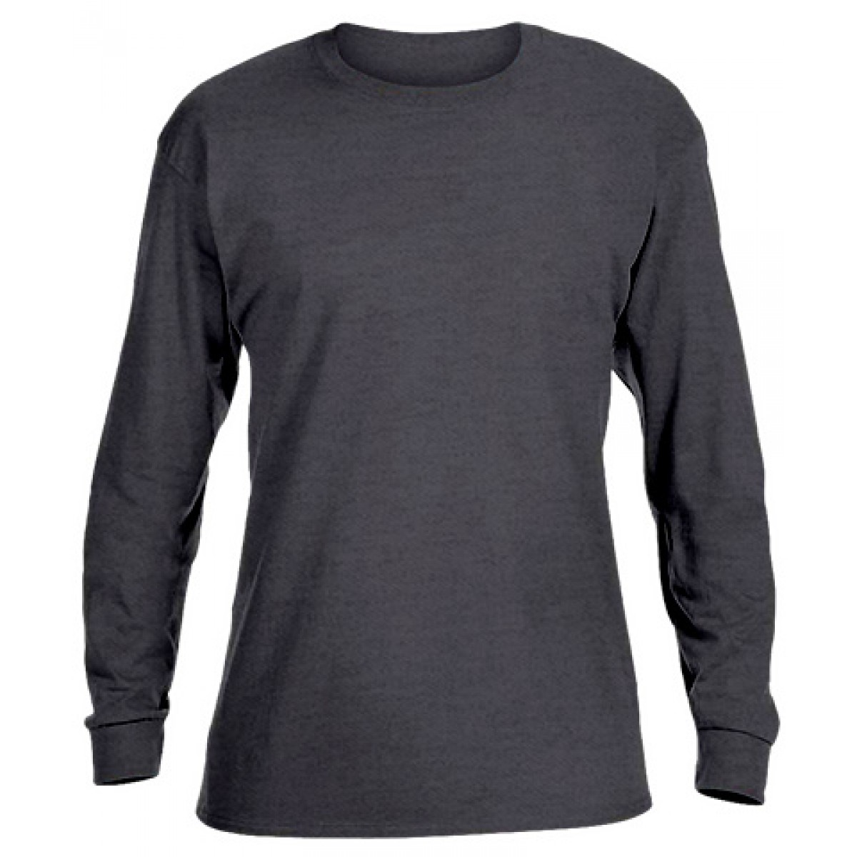 Ultra Cotton Long-Sleeve T-Shirt-Black-L