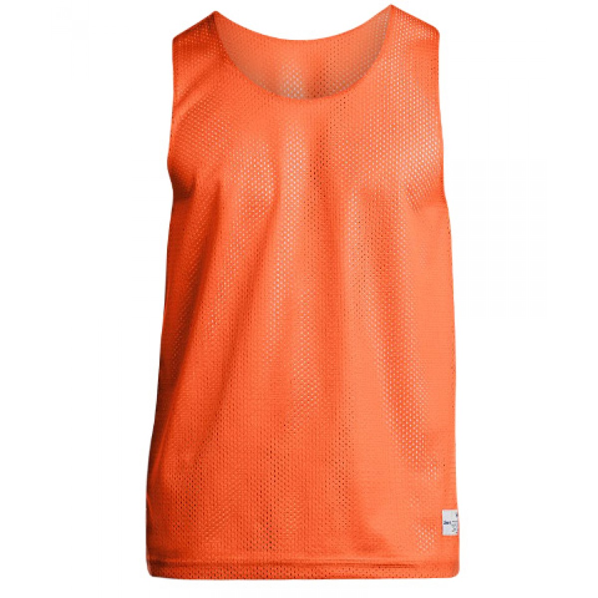 Men's Classic Mesh Reversible Tank-Orange-L