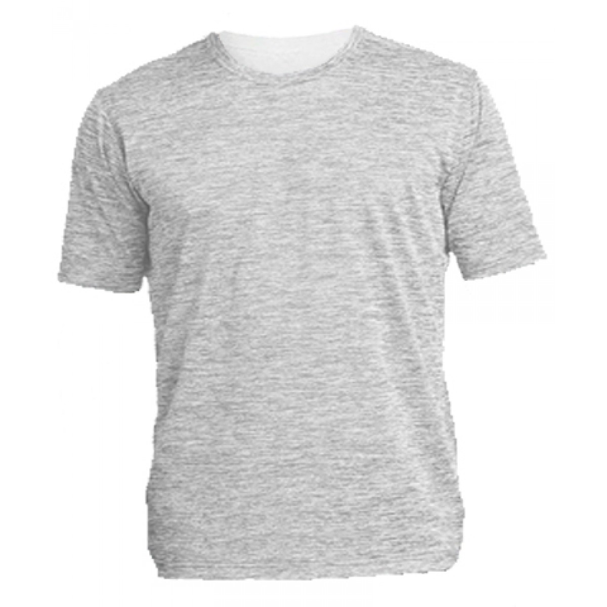 Short Sleeve Performance Tee / Electric Silver